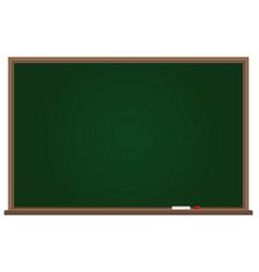 School board with chalk vector