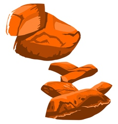 Big rock vector