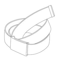 belt 03 vector image