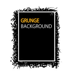 grunge background hand draw for your business vector image vector image
