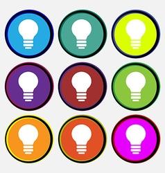 Light lamp Idea vector image vector image