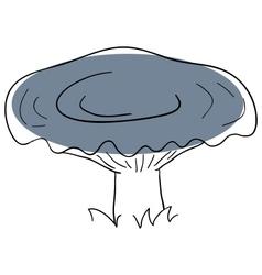 Milk mushroom vector image vector image