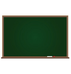 School board with chalk vector