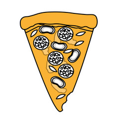 Junk food design vector