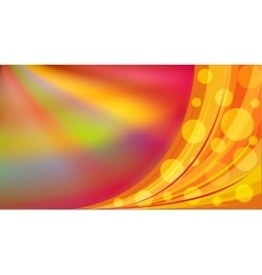 Bright Abstract colorful background with circles vector image