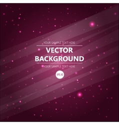 Abstract cosmos background for you design vector image vector image