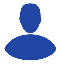 Boy flat icon vector