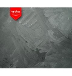 Gark gray gouache texture vector image vector image
