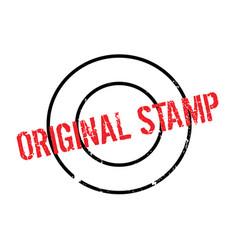 Original stamp rubber stamp vector