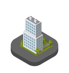 Skyscrapers House Building Icon Skyscraper vector image vector image