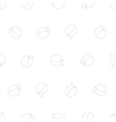 white peach seamless on white background vector image