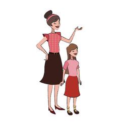 Woman cartoon icon vector