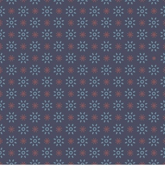 Blue Graphic Seamless Pattern On Blue Background vector image vector image