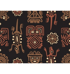 Mexican Pattern Seamless Tile vector image vector image