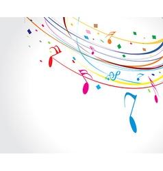 Musictheme vector