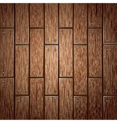 Wooden panel seamless background vector image