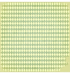 Grunge checkered background vector image