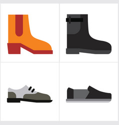 Man shoes vector