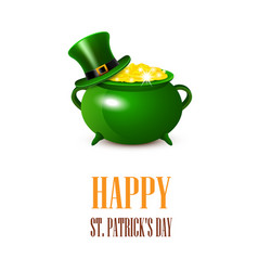 stpatricks day card vector image