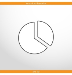 Anchor web flat icon vector