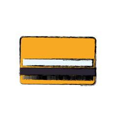 Bank credit card vector