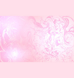 chaotic touches on a pink background vector image vector image