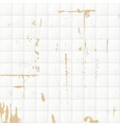 Rusty tile wall vector