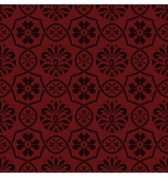 Seamless floral pattern indian style vector