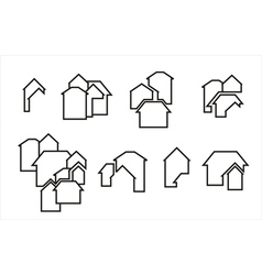 construction real estate icon vector image