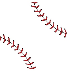 Baseball lace background2 vector