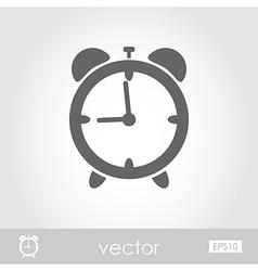 Alarm clock icon vector