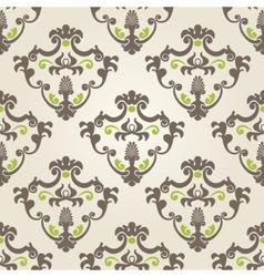 Seamless classic design wallpaper vector image vector image