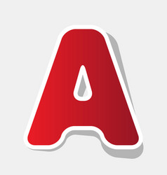 letter a sign design template element  new vector image