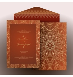 Invitation arabic vector