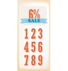 Discount labels  set vector