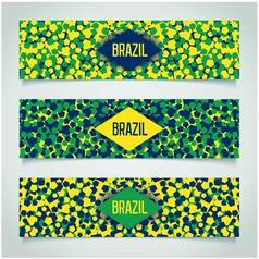 Brazilian carnival banner vector