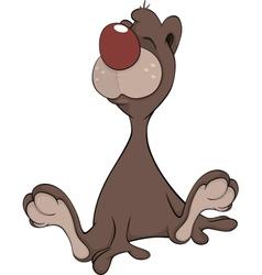 Brown Bear Cartoon vector image