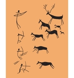 Depicting hunting vector
