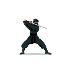 Ninja sign vector