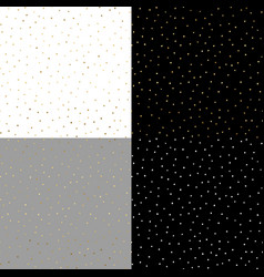Seamless pattern with gold painted dots on the vector
