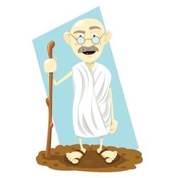 indian guru vector image vector image