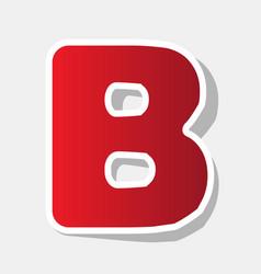 letter b sign design template element new vector image