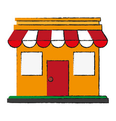 store vector image vector image