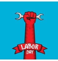 Usa labor day background vector