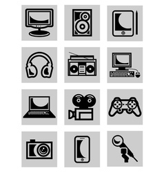 computer technology vector image vector image