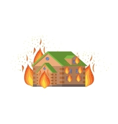 House on fire natural forces threat vector