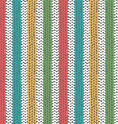 Knitted seamless texture vector