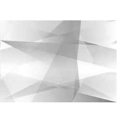 triangle and line gray color abstract background vector image