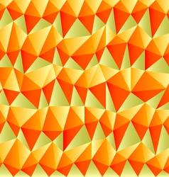 Triangular autumn background vector