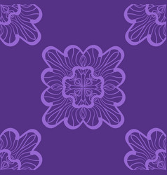 Wallpaper in abstract style a violet seamless vector
